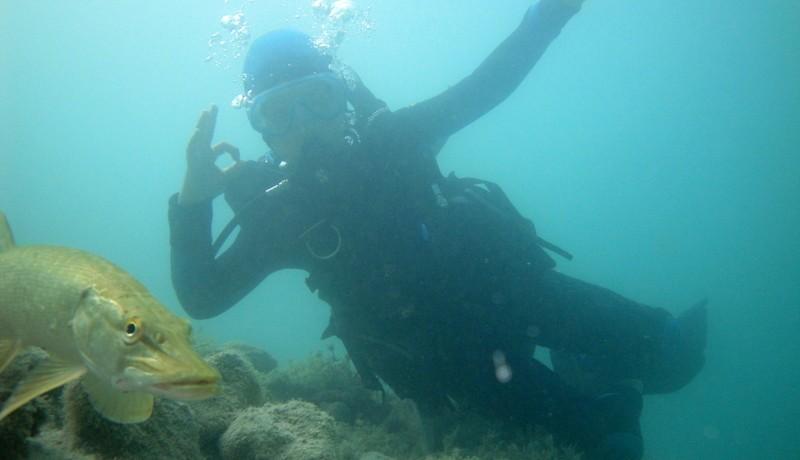 plongée lac annecy